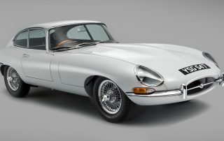 1961 Jaguar E-type car