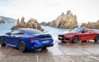 BMW M8 Competition Convertible and Coupe