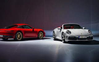 2020 Porsche 911 Carrera and 911 Carrera Cabriolet