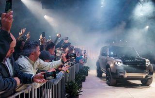 Land Rover Defender Reveal at LA Auto Show