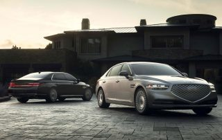 The new 2020 Genesis G90 Premium Luxury Sedan