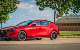 2019 Mazda3 Hatchback Premium Red Crystal Metallic