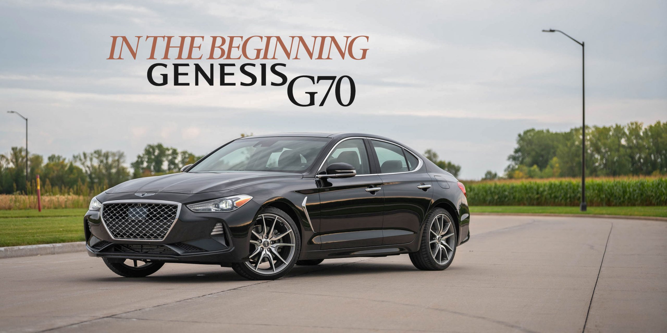 2019 Gensis G70 RWD 2.0T Review
