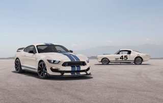 LIMITED-EDITION SHELBY GT350