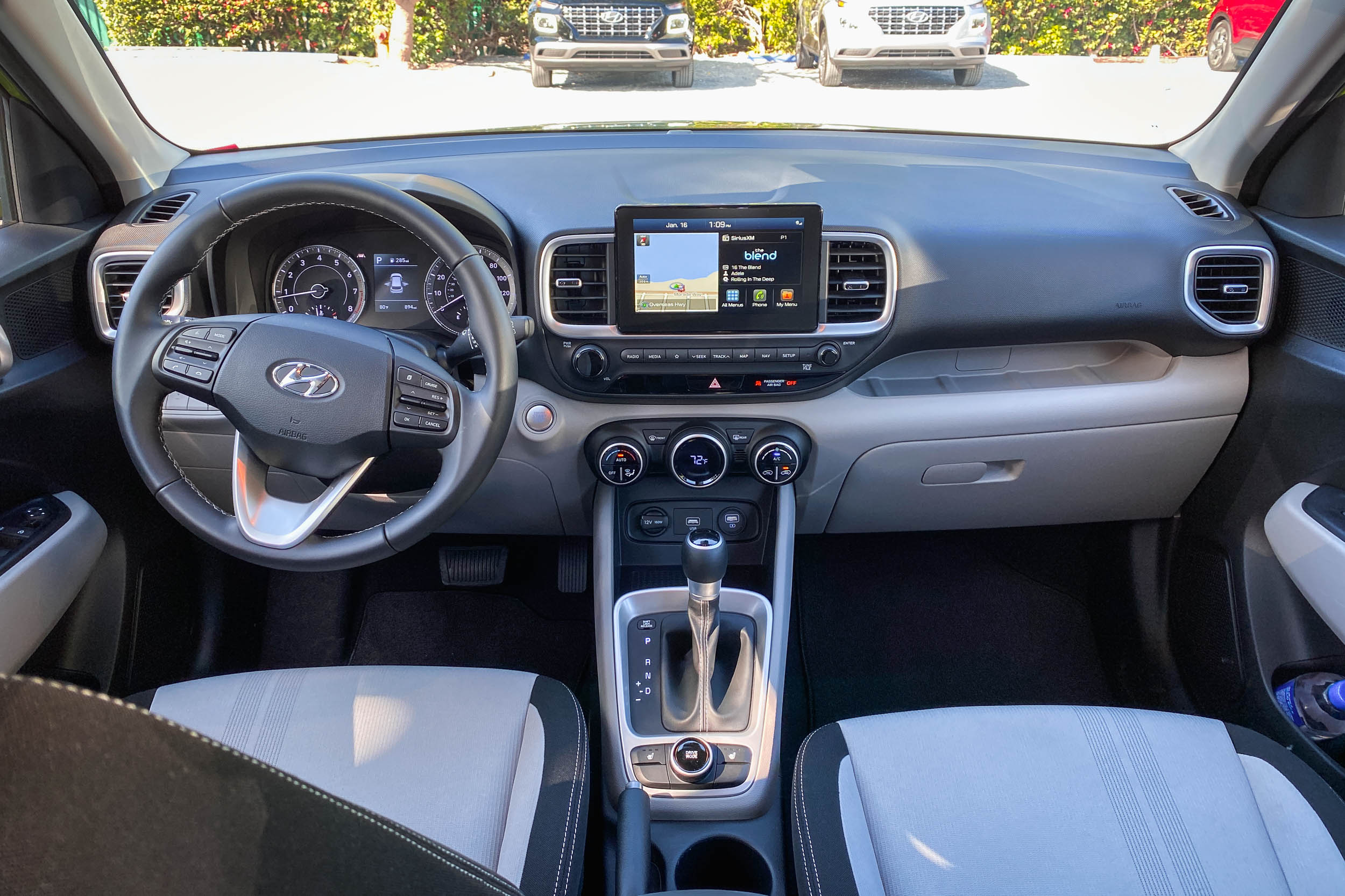 Front Dashboard