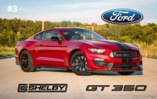 3. Ford Mustang Shelby GT350/350R (2016-2019)