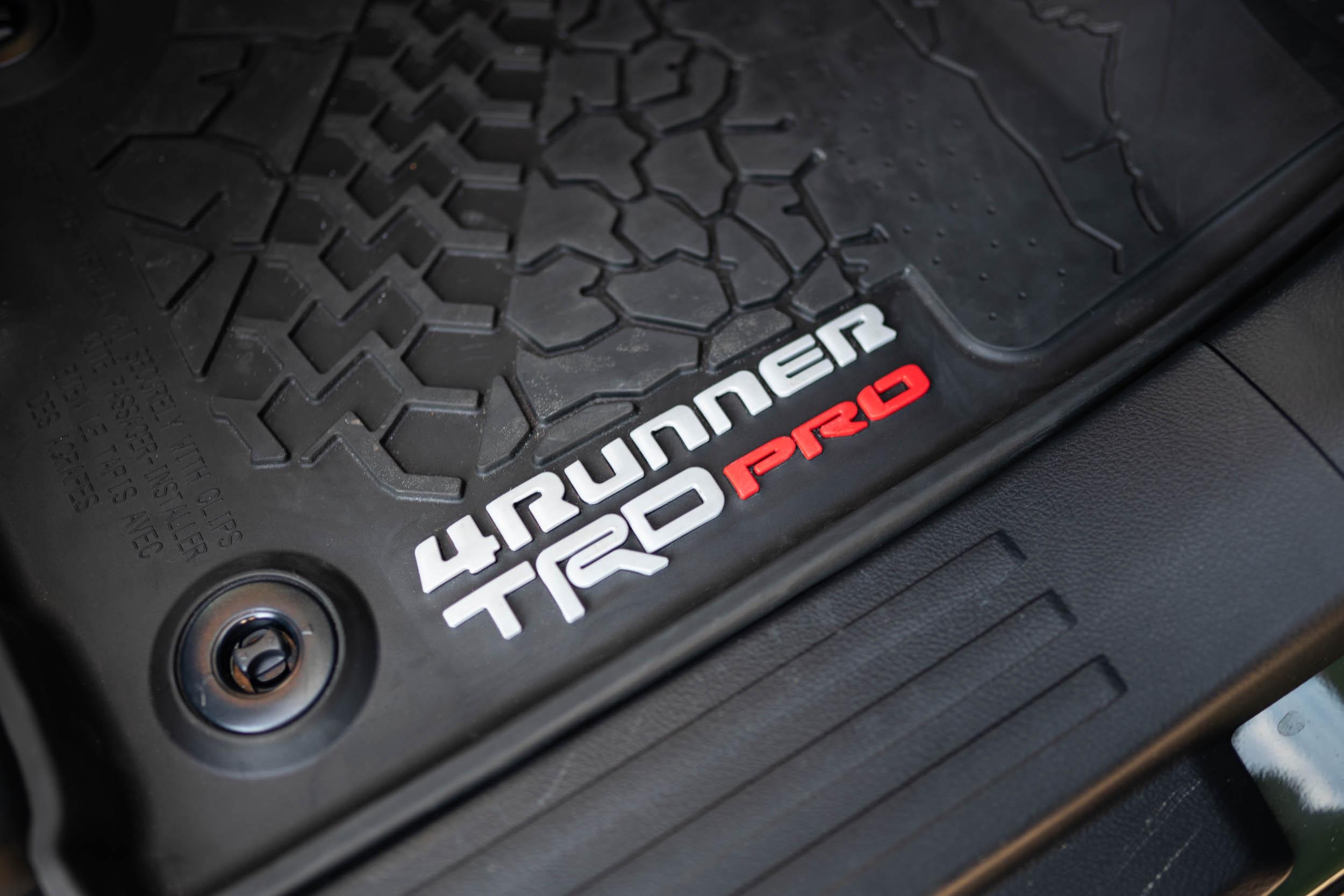 4Runner TRD Pro Floor Mats