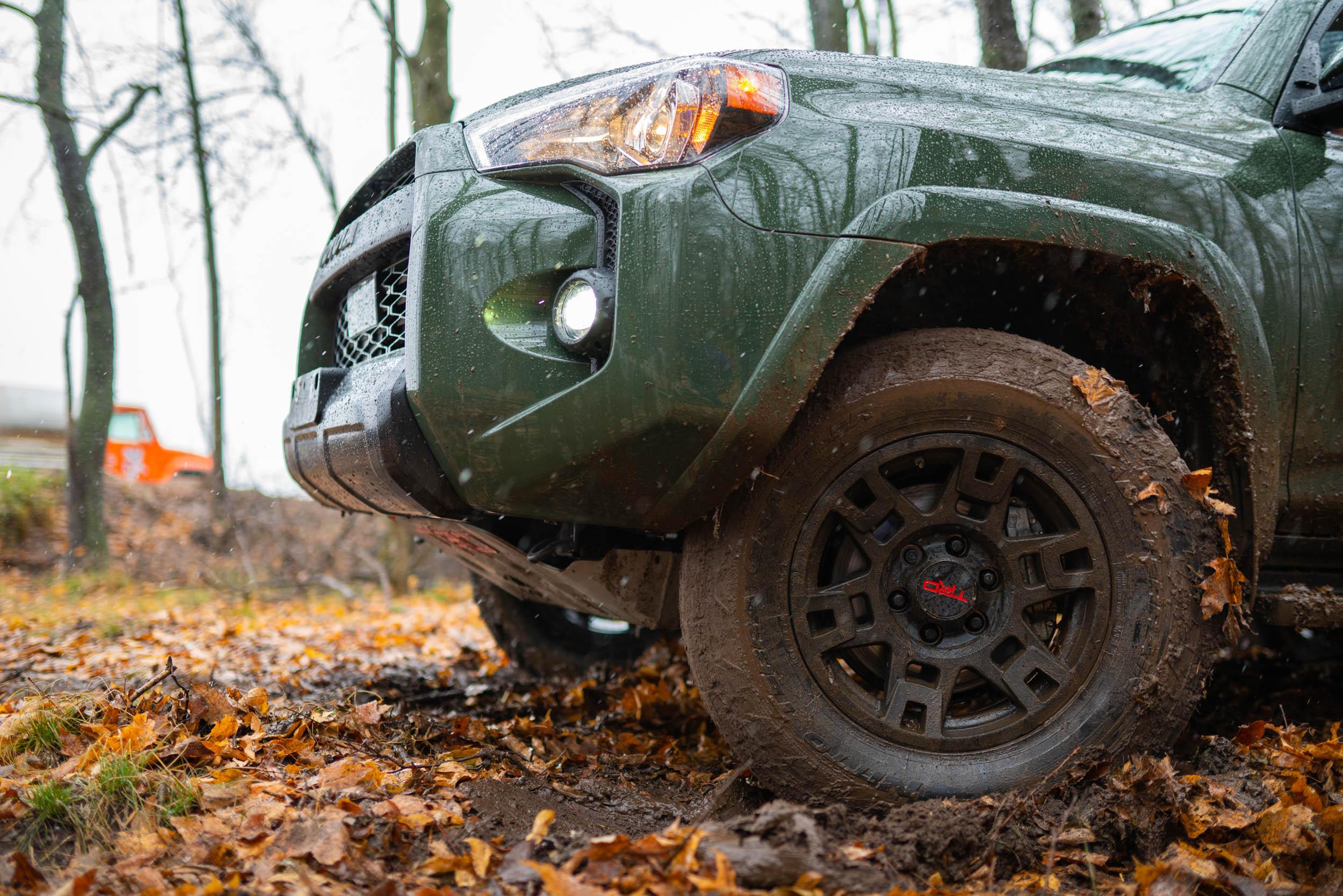 2020 Toyota 4Runner Muddy tires