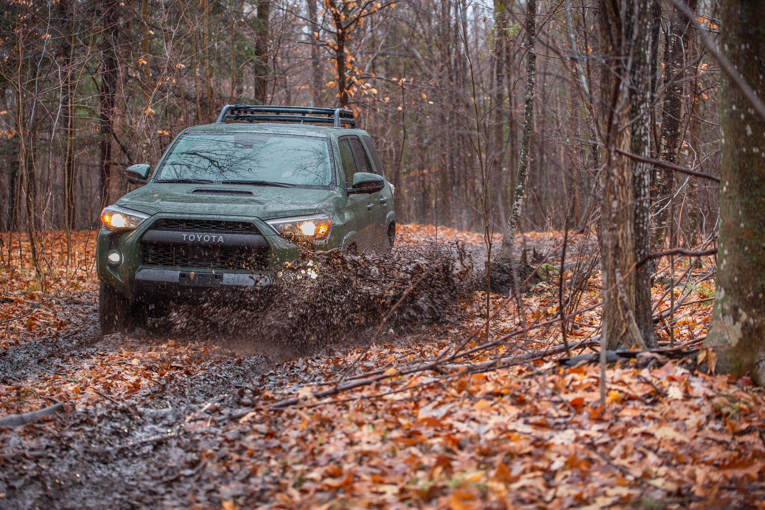 Splashing in the Mud