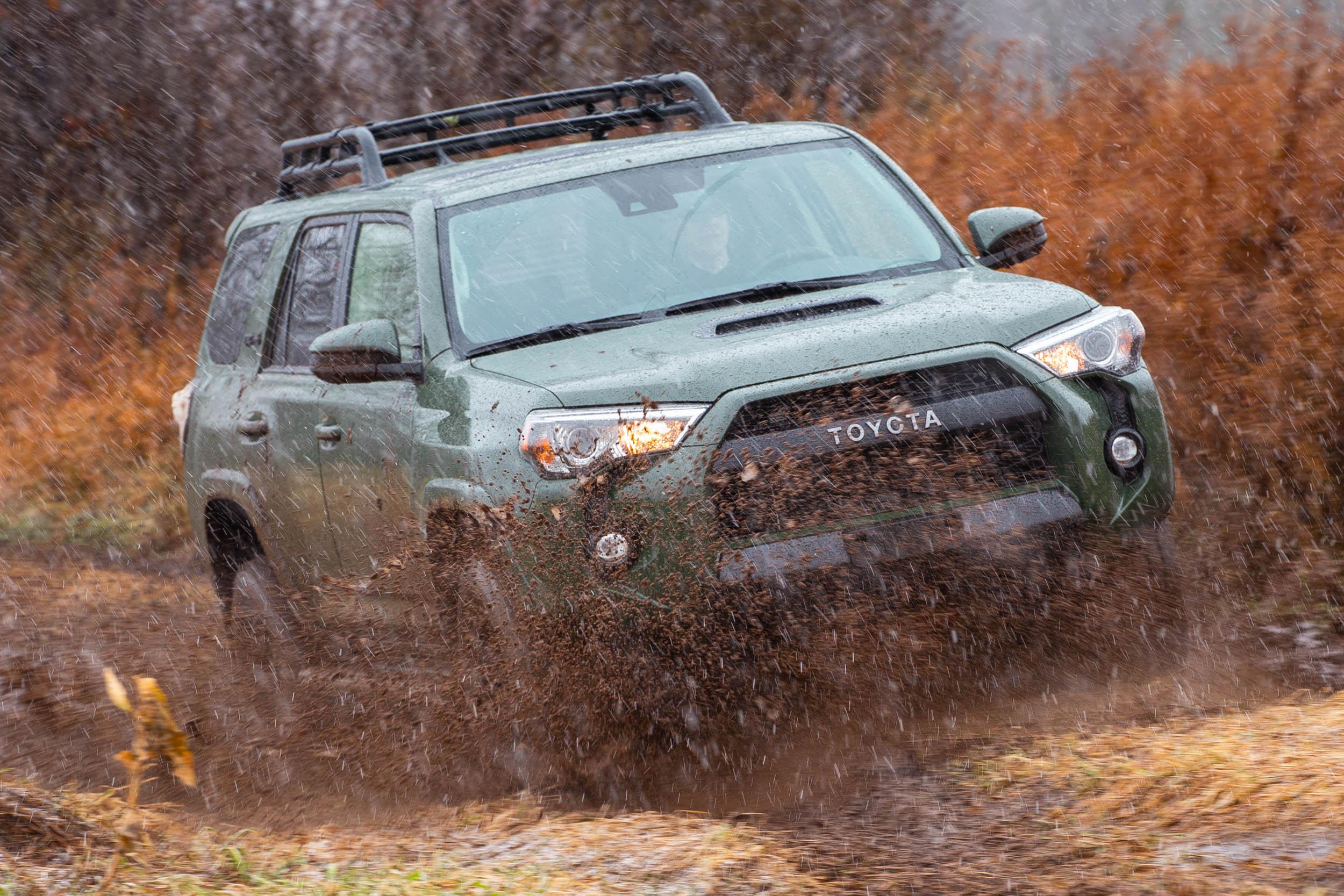 2020 Toyota 4Runner Mudding