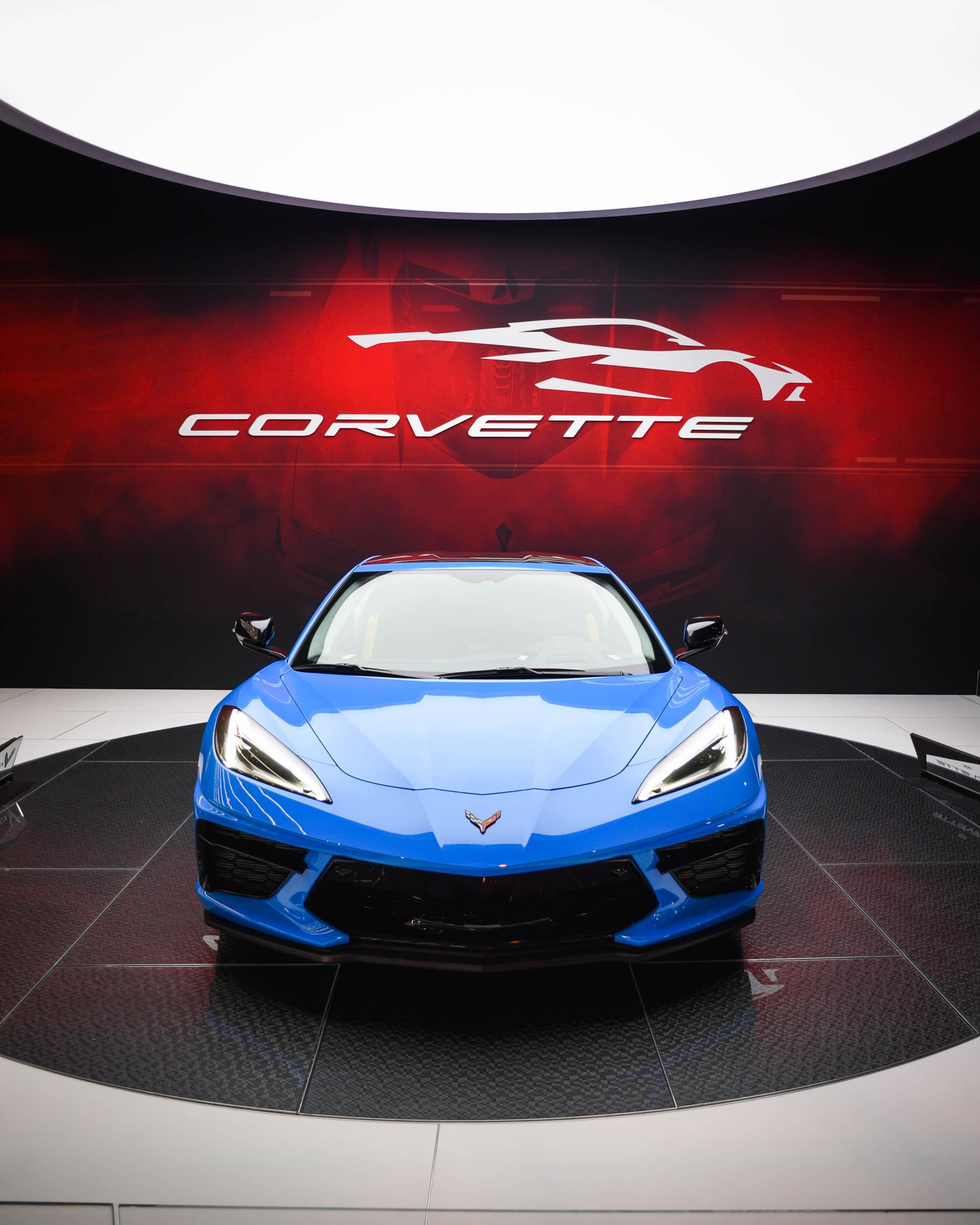 2020 Corvette C8 Chicago Auto Show