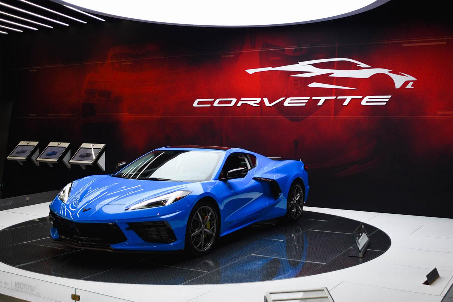 2020 Corvette C8 - Chicago Auto Show