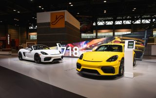 2020 Porsche Display - Chicago Auto Show