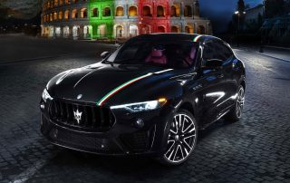 Maserati AND THE ITALIAN TRICOLOR
