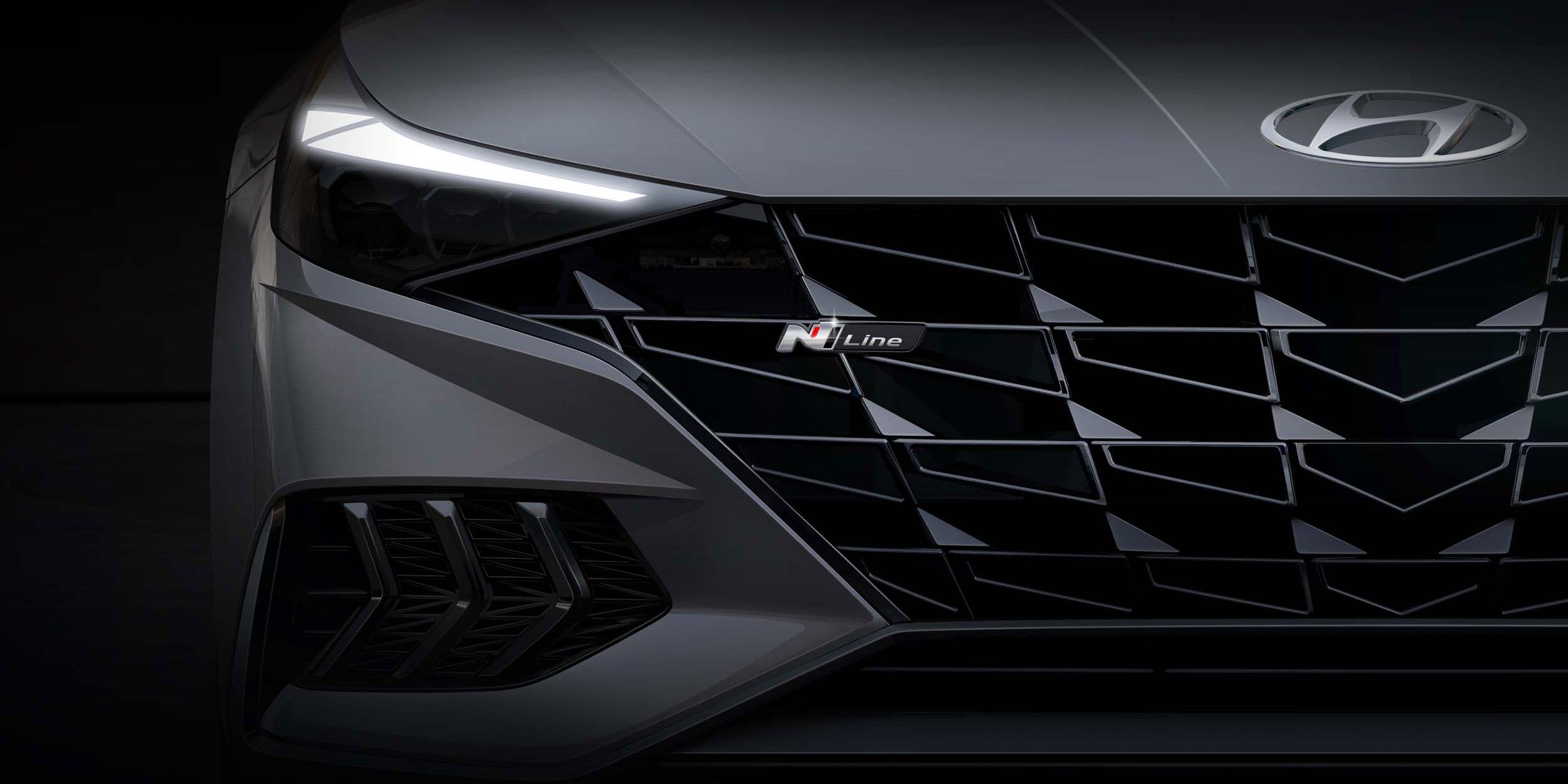 Hyundai Motor Unveils Rendering of New Elantra N Line
