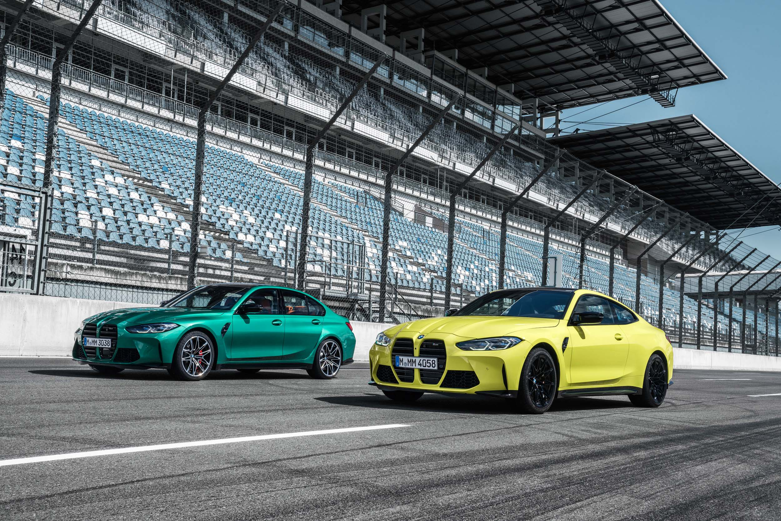 THE NEW 2021 BMW M3 SEDAN AND M4 COUPE