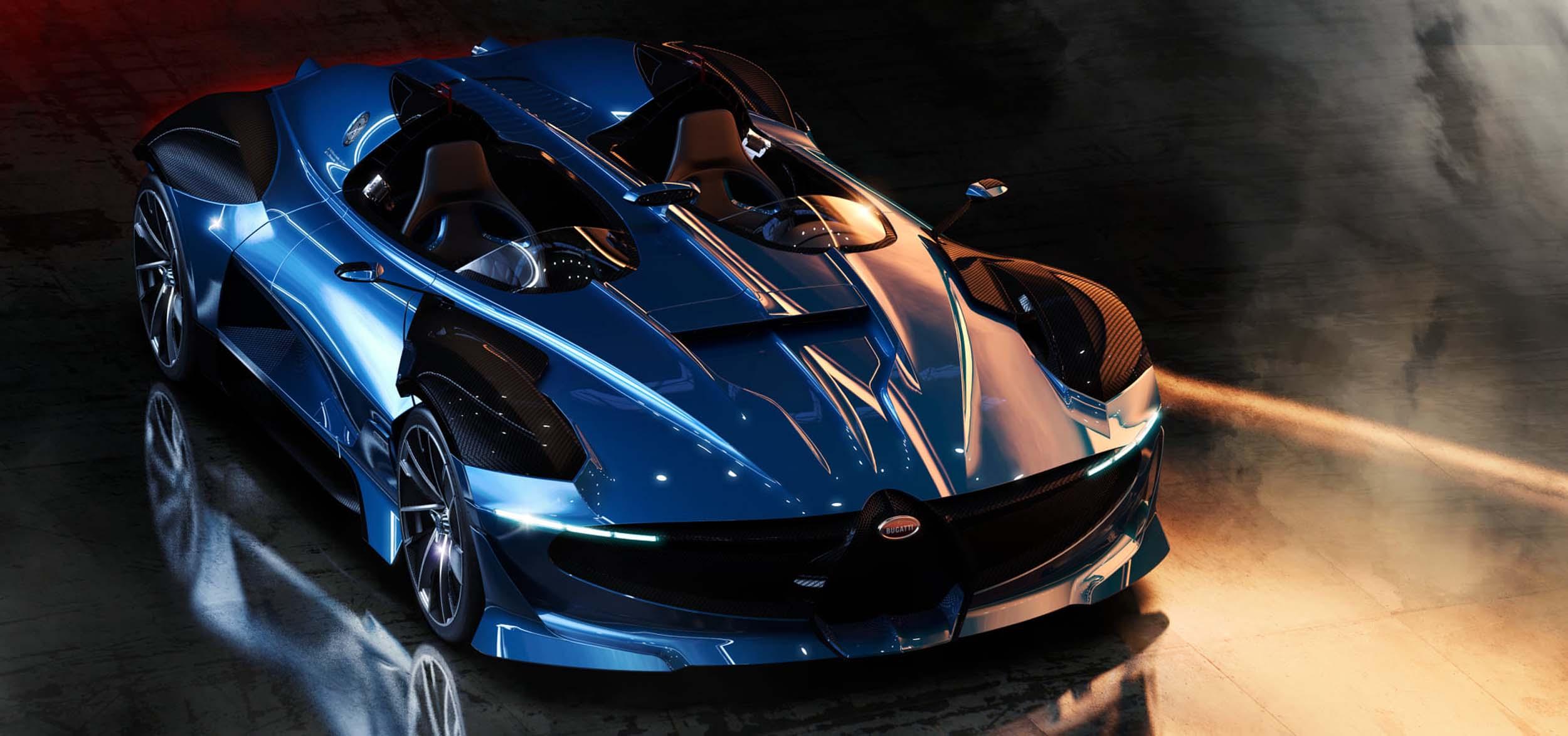 Design concept: Bugatti Type 251 Evo (2020)