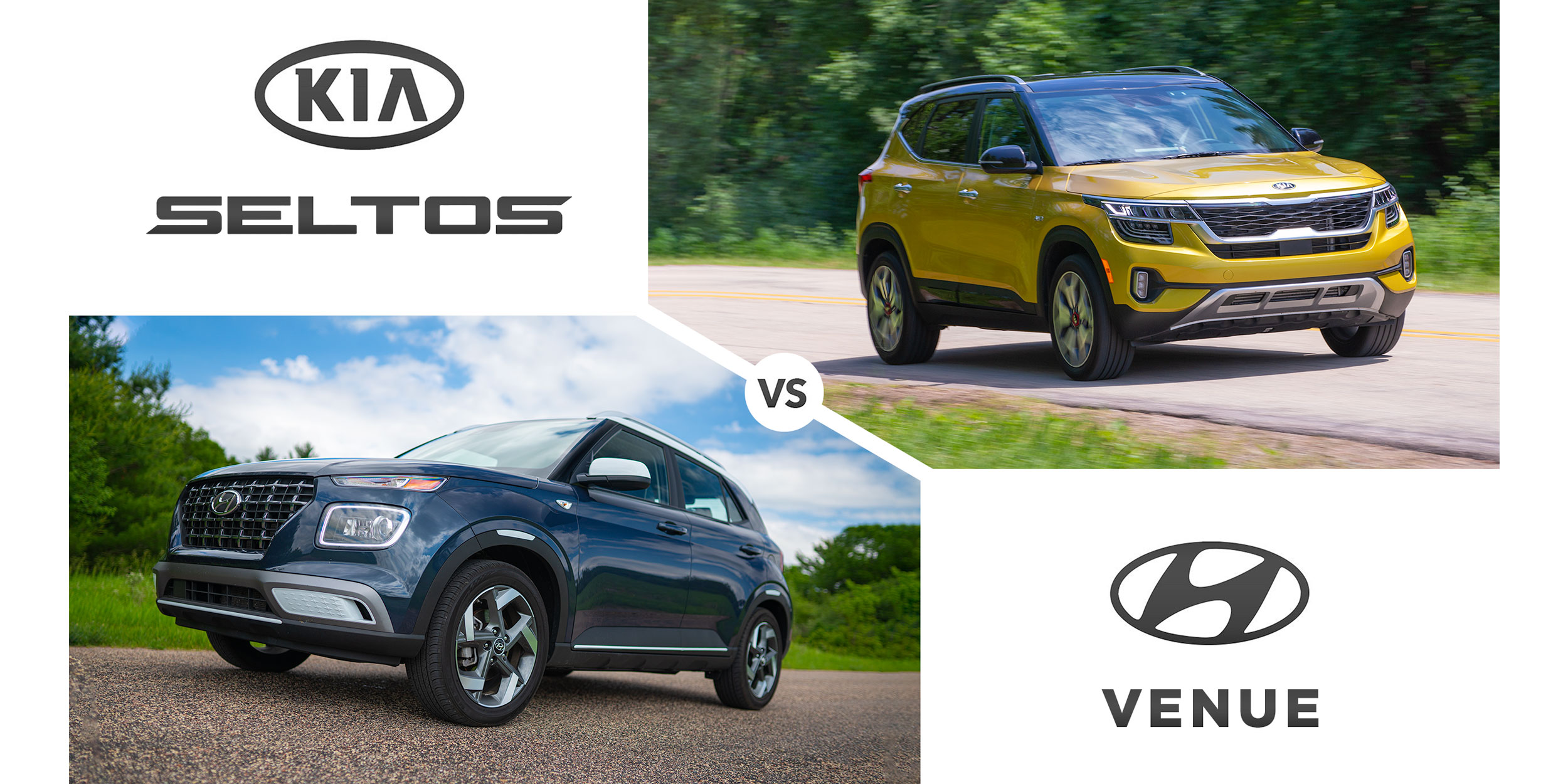 2021 Kia Seltos versus 2020 Hyundai Venue