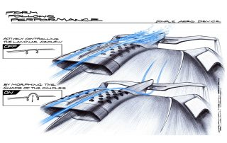 Bugatti Dimple Airscoop – a new invention for enhanced aerodynamics