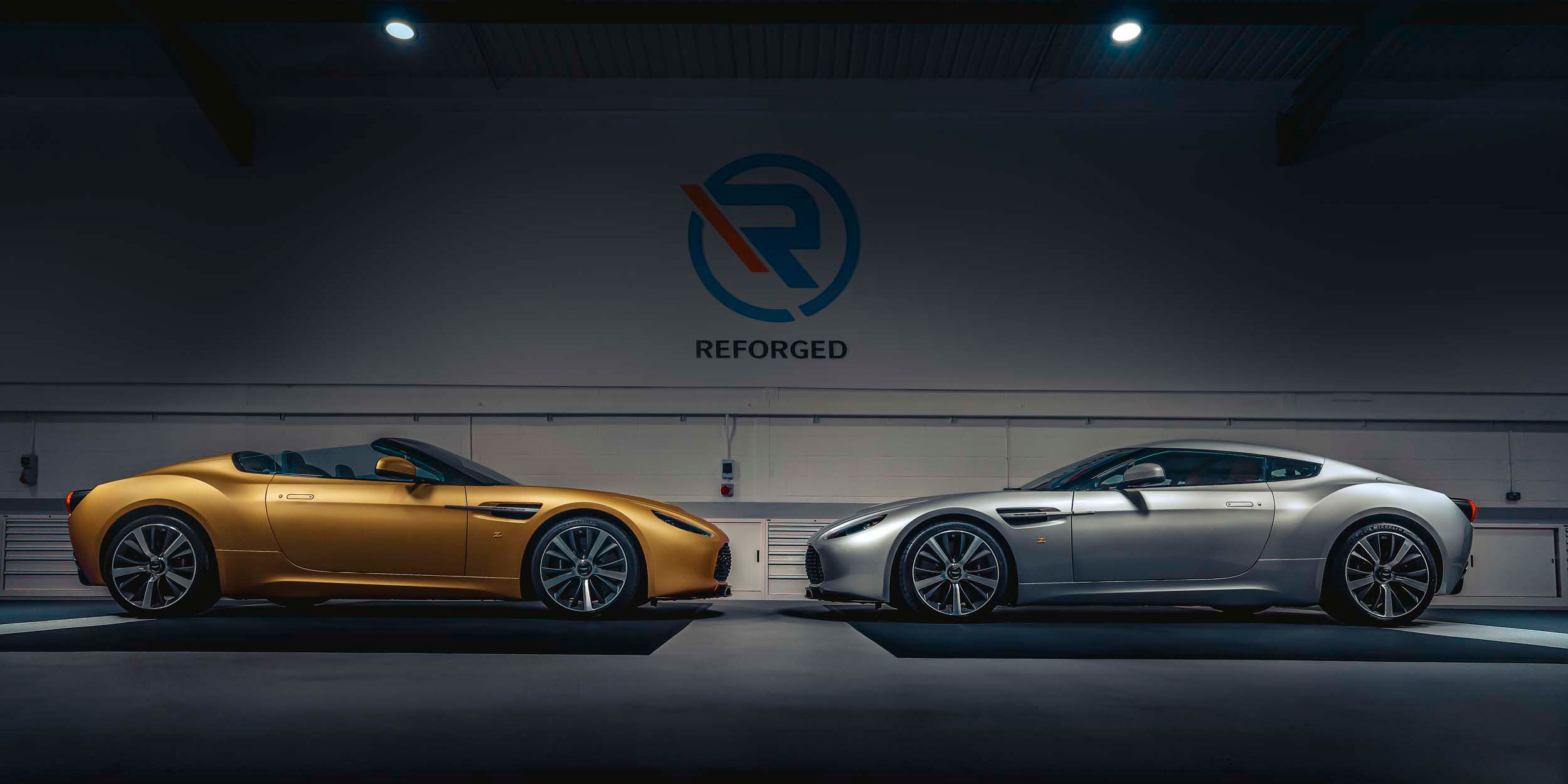 Revealed: Aston Martin Vantage V12 Zagato Heritage TWINS by R-Reforged