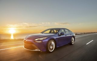 Toyota Introduces Second-Generation Mirai Fuel Cell Electric Vehicle as Design and Technology Flagship Sedan