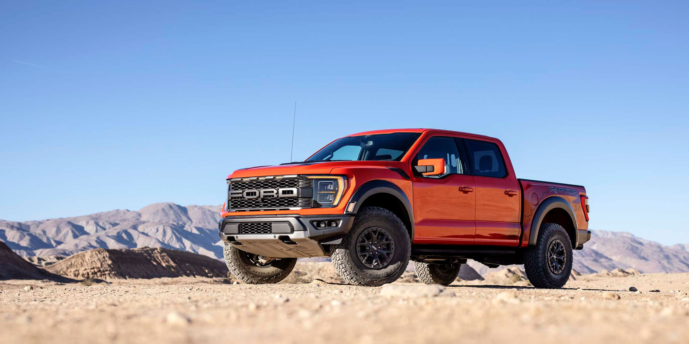 Cranking Up the O.G. Desert Predator: Ford Unleashes Most Off-Road Capable and Connected F-150 Raptor Ever