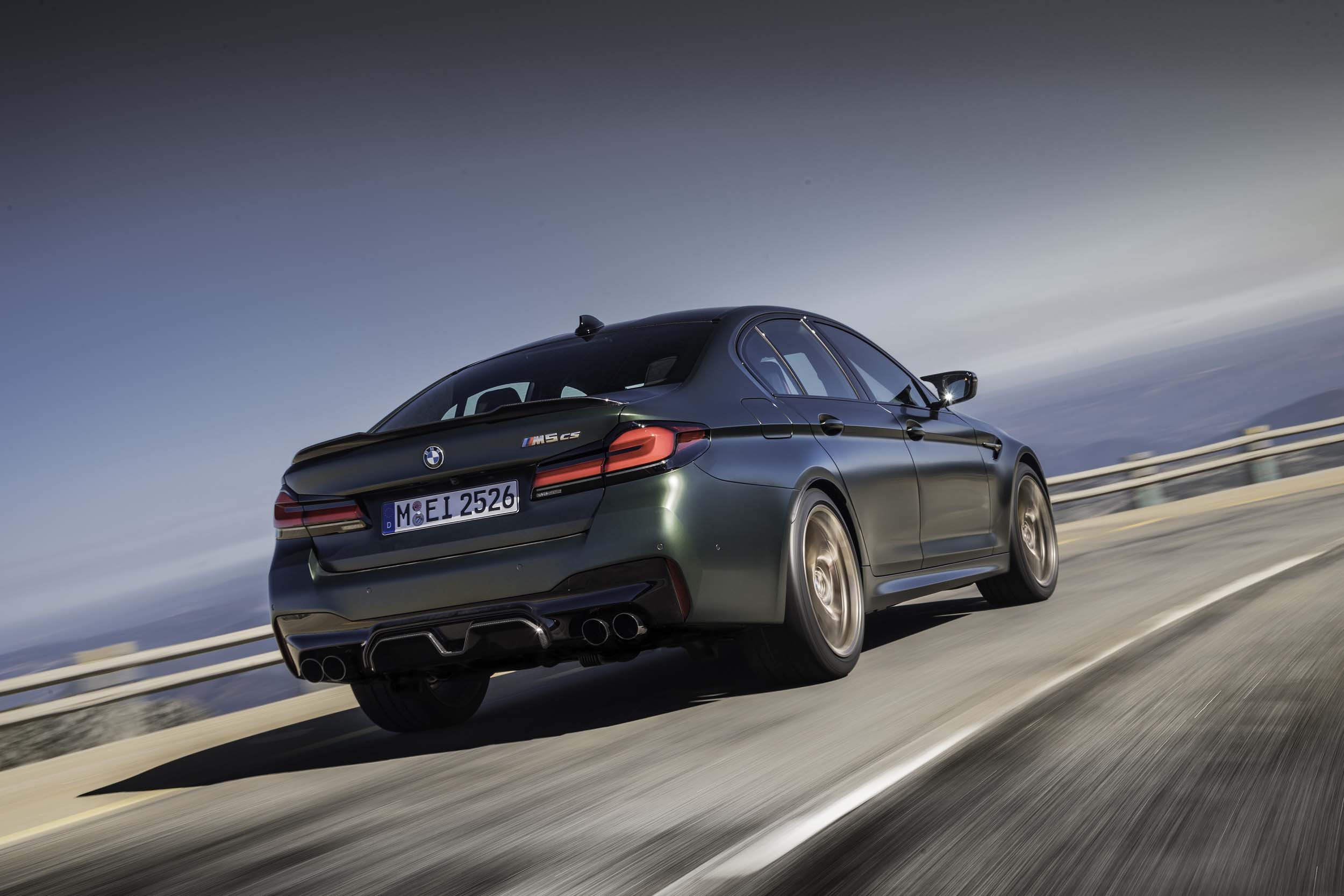 The New 2022 BMW M5 CS Sedan